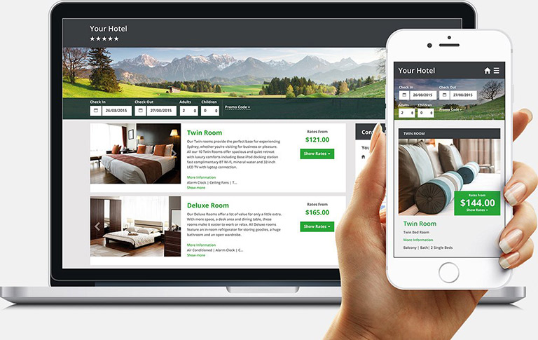 Hotel Booking Engine System