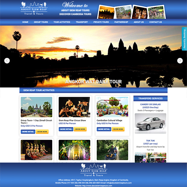 About Siem Reap Tours in Krong Siem Reap