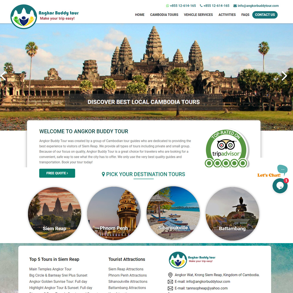 Angkor Buddy Tour in Siem Reap