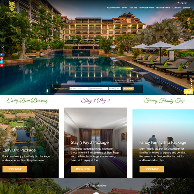 Angkor Miracle Resort & Spa in Siem Reap