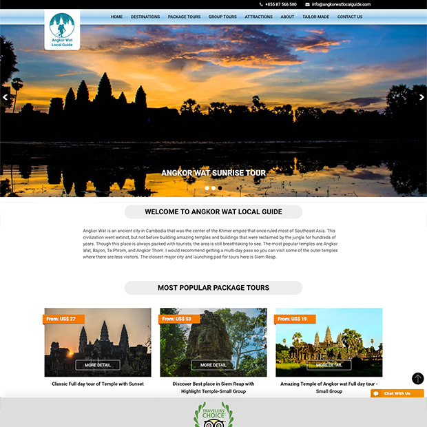 Angkor Wat Local Guide in Siem Reap