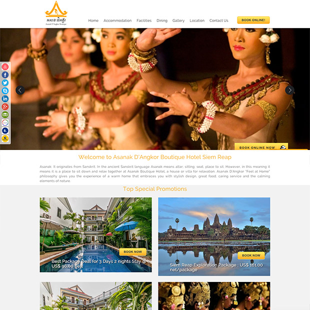 Asanak D'Angkor Boutique in Krong Siem Reap