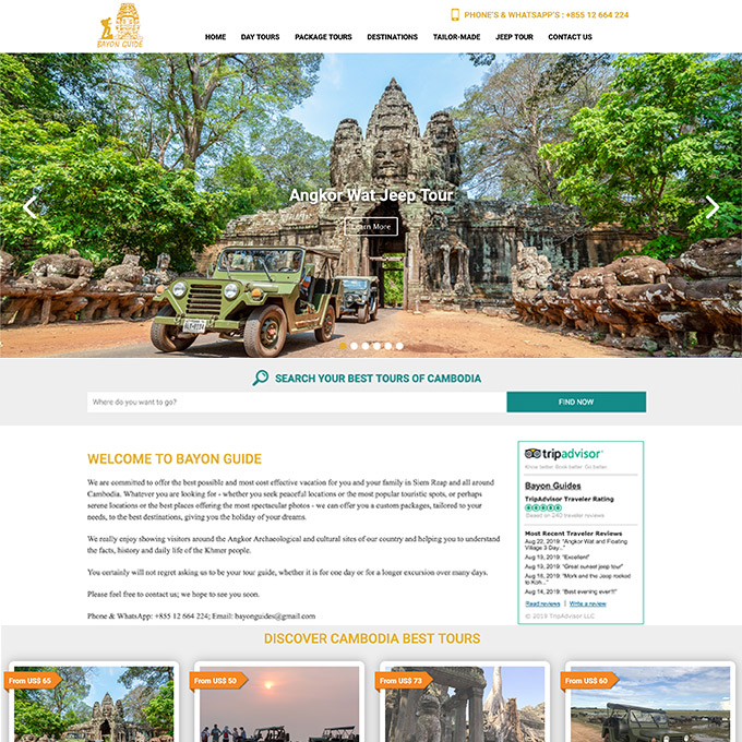 Bayon Guide in Siem Reap