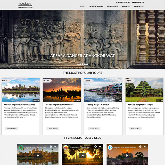 Get Angkor Guide in Siem Reap City