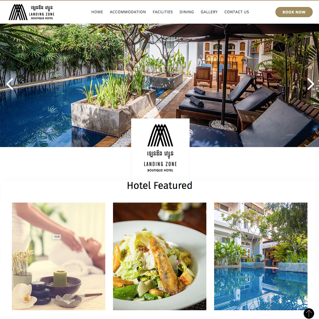 Landing Zone Boutique Hotel in Siem Reap City