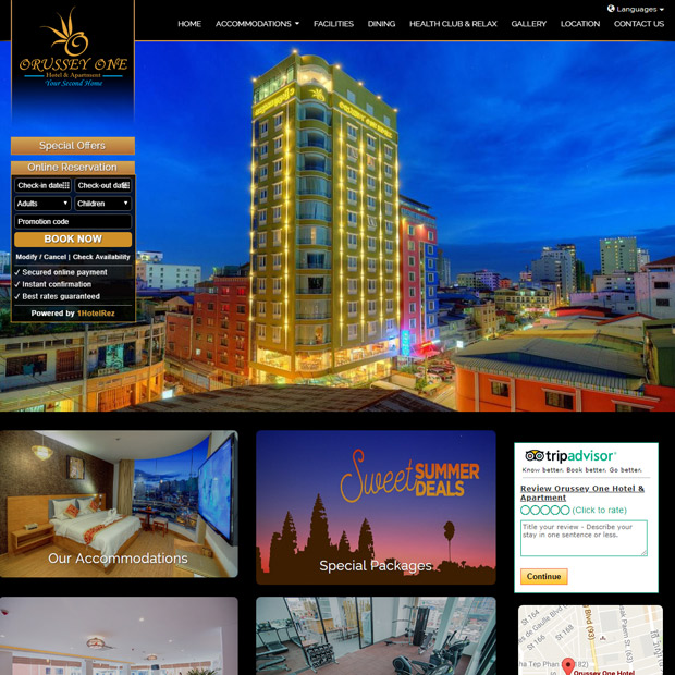 Orussey One Hotel & Apartment in Phnom Penh